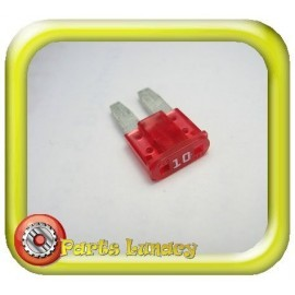 10 Amp Red Micro2 Wedge Blade Fuses x5