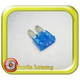 15 Amp Blue Micro2 Wedge Blade Fuses x5