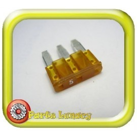 5 Amp Orange 3 Leg Micro3 Wedge Blade Fuses x5