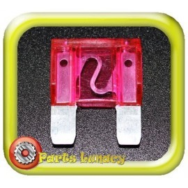 35 Amp Pink Maxi Wedge Blade Fuse x1
