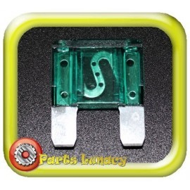 30 Amp Green Maxi Wedge Blade Fuses x5