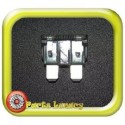 2 Amp Grey Standard Wedge Blade ATS Fuses x5