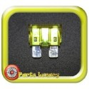 20 Amp Yellow Standard Wedge Blade ATS Fuses x5