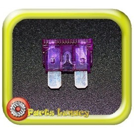 35 Amp Dark Purple Standard Wedge Blade ATS Fuses x5