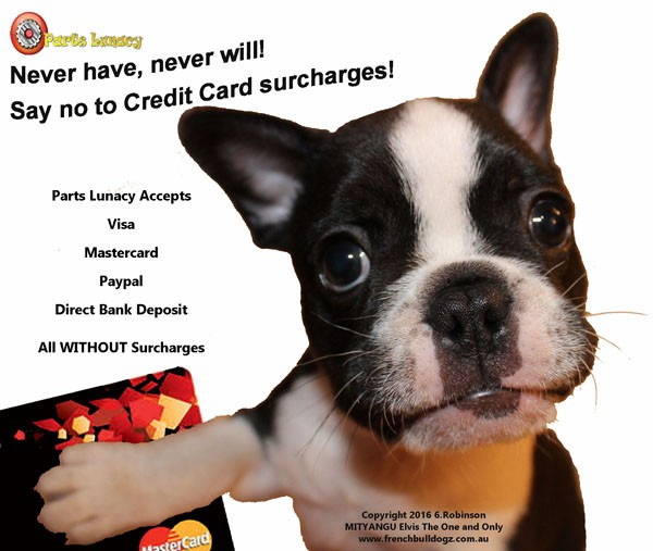No Credit Card Surcharges....Never Have....Never Will.